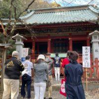 静岡浅間神社の七社参りへ